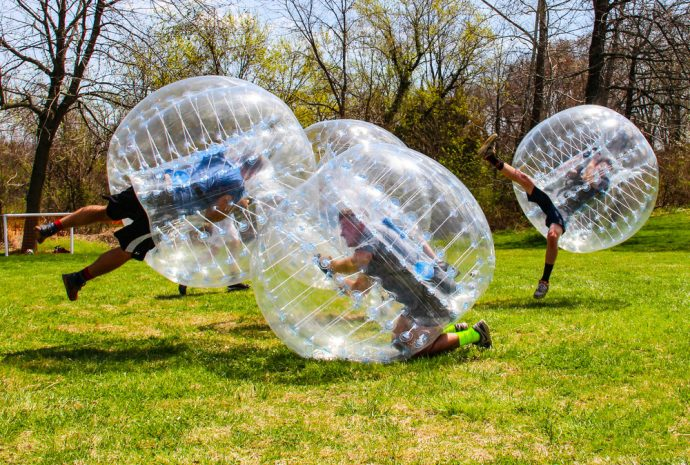 bubble soccer auckland