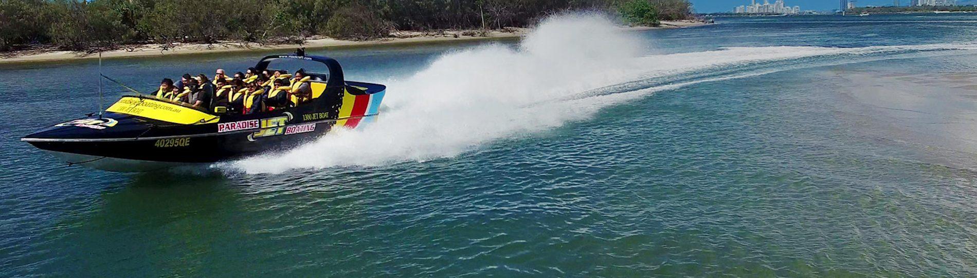 jet boat tour gold coast