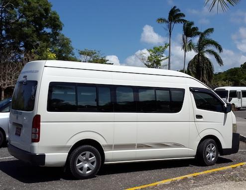 airport mini bus transfers