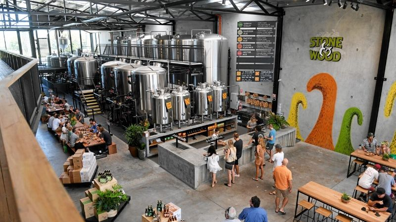 stone and wood brewery byron bay attractions