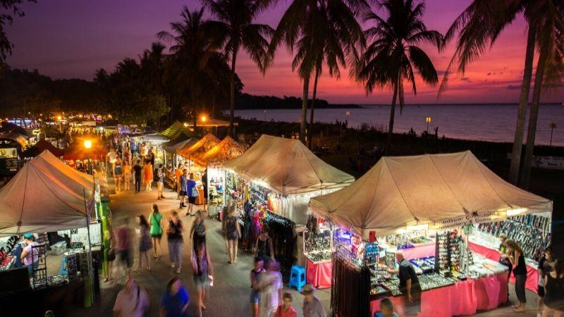 darwin attractions markets