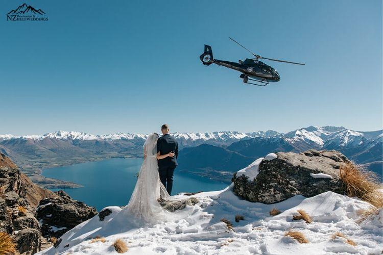 heli weddings