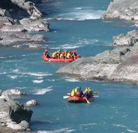 bucks rafting in christchurch
