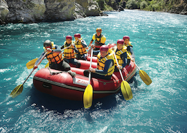 wite water rafting christchurch