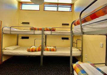 backpacker dorms 8 bed dunedin bucks party accommodation