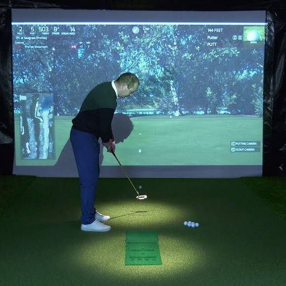 bucks indoor golf simulator christchurch