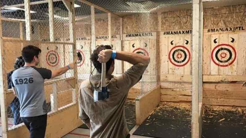 axe throwing melbourne bucks activities