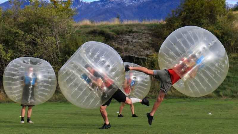 bubble soccer melbourne bucks activities