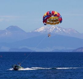 parasail in bay of islands