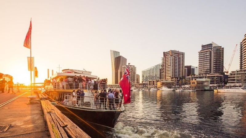melbourne bucks activities party boat cruise