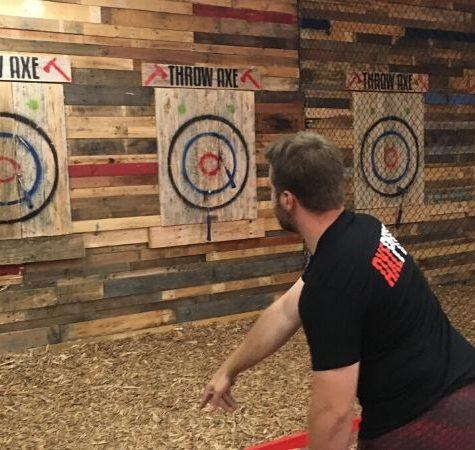 sydney bucks axe throwing activity
