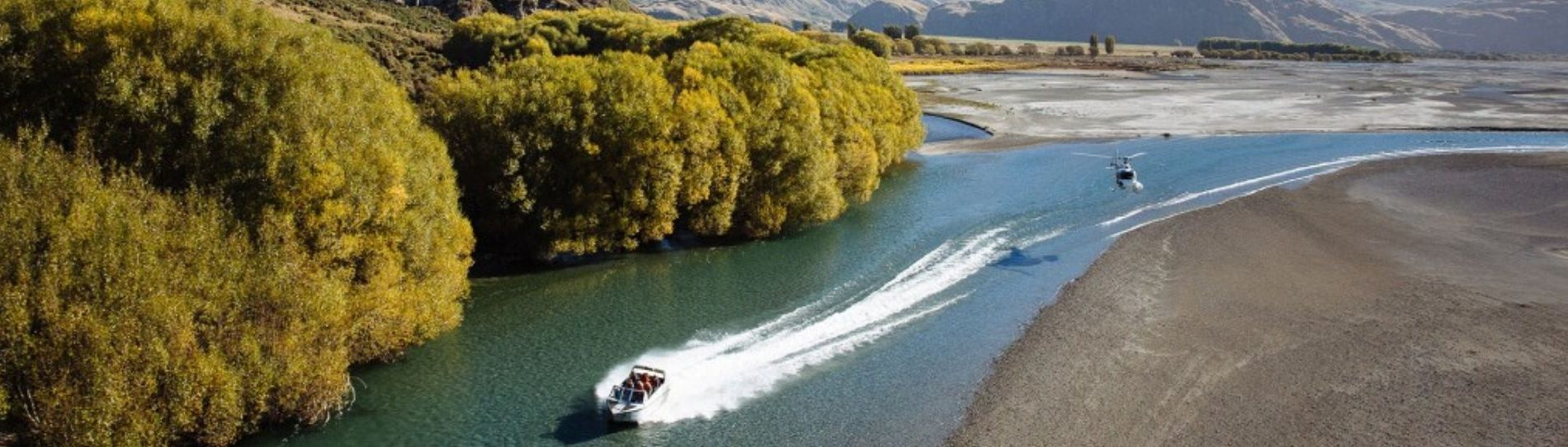 wanaka jet boating activity