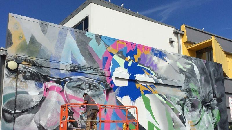 paradox street art festival tauranga