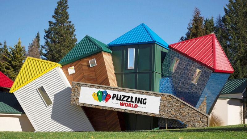 attractions in wanaka puzzle world