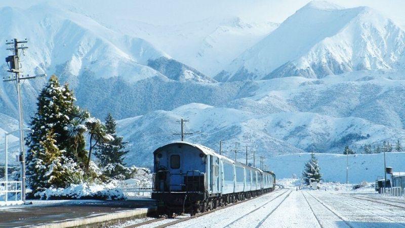 the tranzalpine train christchurch nz