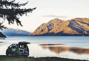 bucks party lakeside camping wanaka