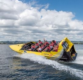 jet boating rotorua bucks party activity